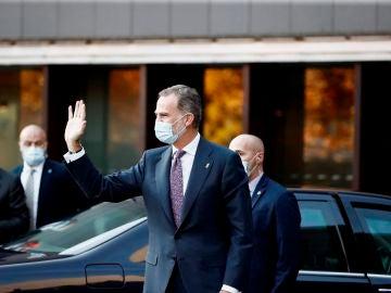El rey Felipe VI inaugura el Congreso Nacional de la Empresa Familiar