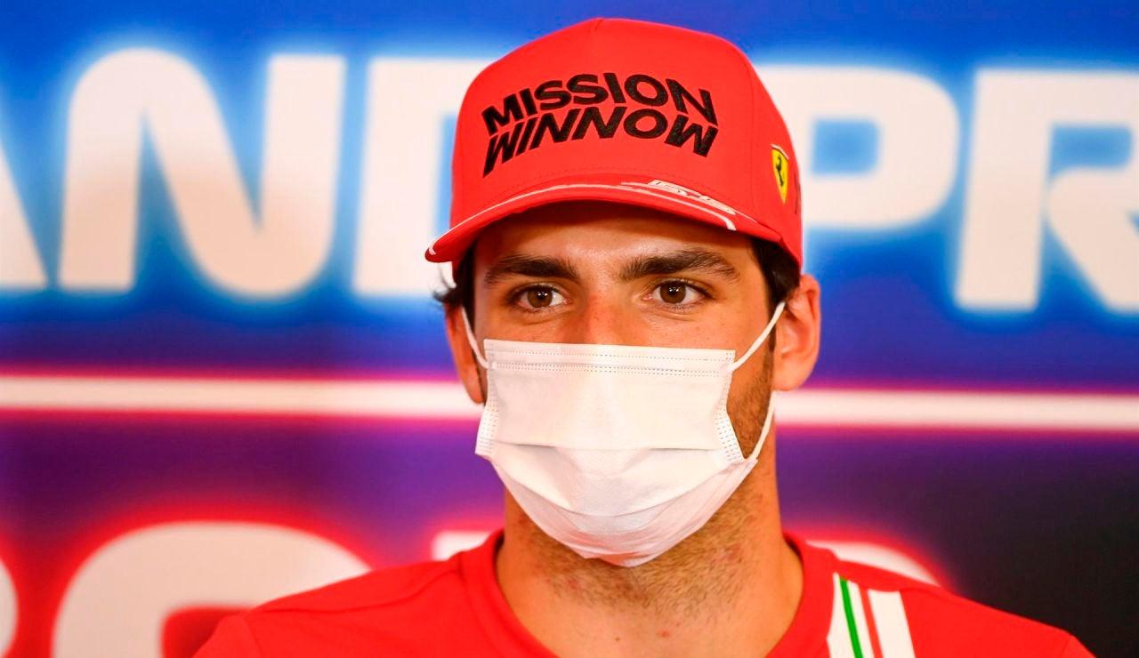 """Carlos Sainz, tras la mala parada de Ferrari en Austin: """"Estaría hecho con un pit stop bueno"""""""