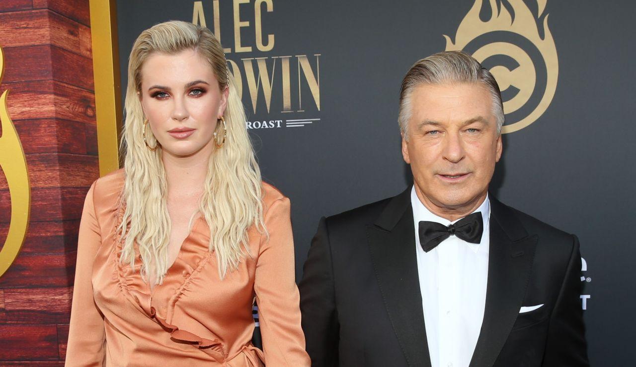 Alec Baldwin y su hija, Ireland