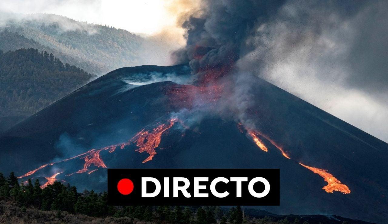 Erupción volcán La Palma, en directo: Última hora de las bocas y evacuados en la isla hoy, en directo