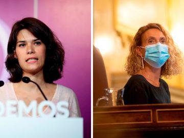 Isa Serra pide la dimisión de Meritxell Batet por retirar el escaño a Alberto Rodríguez