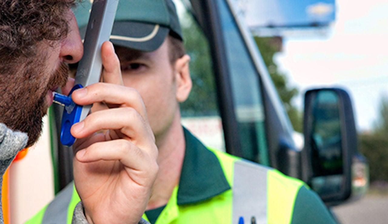 Control de drogas de la Guardia Civil