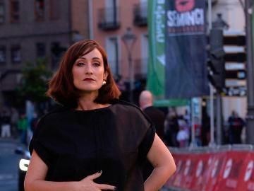 """La razón de Ana Morgade para vestir un portatrajes en la Seminci: """"durante años pensé que mi cuerpo era el equivocado"""""""