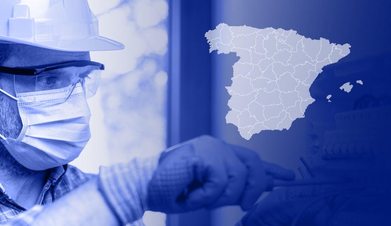 Estos son los trabajos más demandados por provincias en España