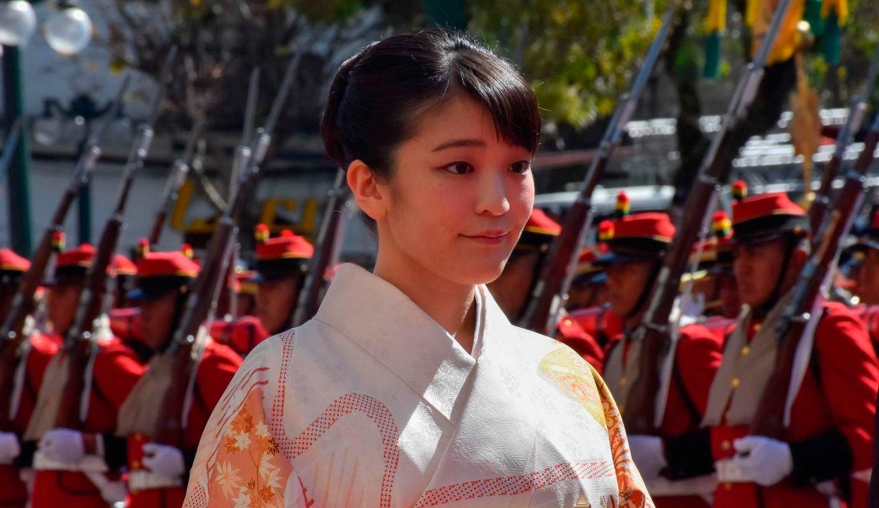 Mako, la princesa de Japón, se casa con un plebeyo