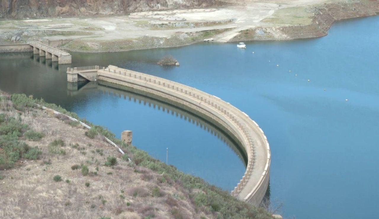La sequía deja la reserva hidráulica de los embalses españoles al 38% de su capacidad