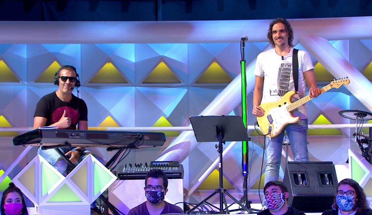 """Las bonitas palabras de Jorge Fernández a Joaquín Padilla y la banda: """"Estos son músicos de verdad"""""""
