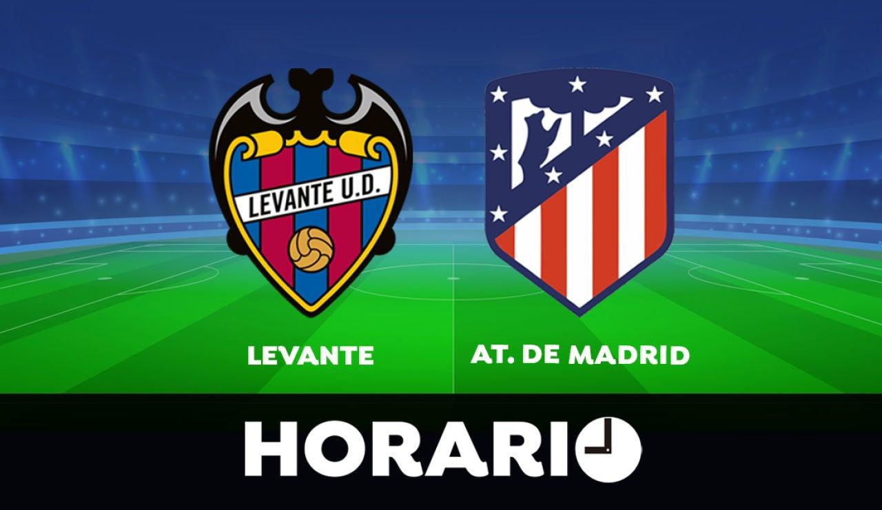 Levante - Atlético de Madrid: Horario y dónde ver el partido de la Liga Santander en directo