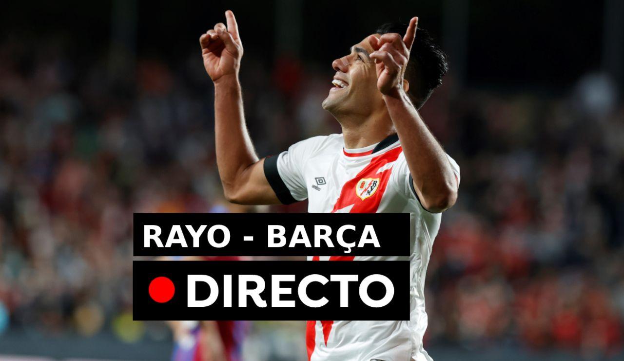 Rayo Vallecano - Barcelona, fútbol en directo: Partido, goles y resultado de la Liga (1-0)