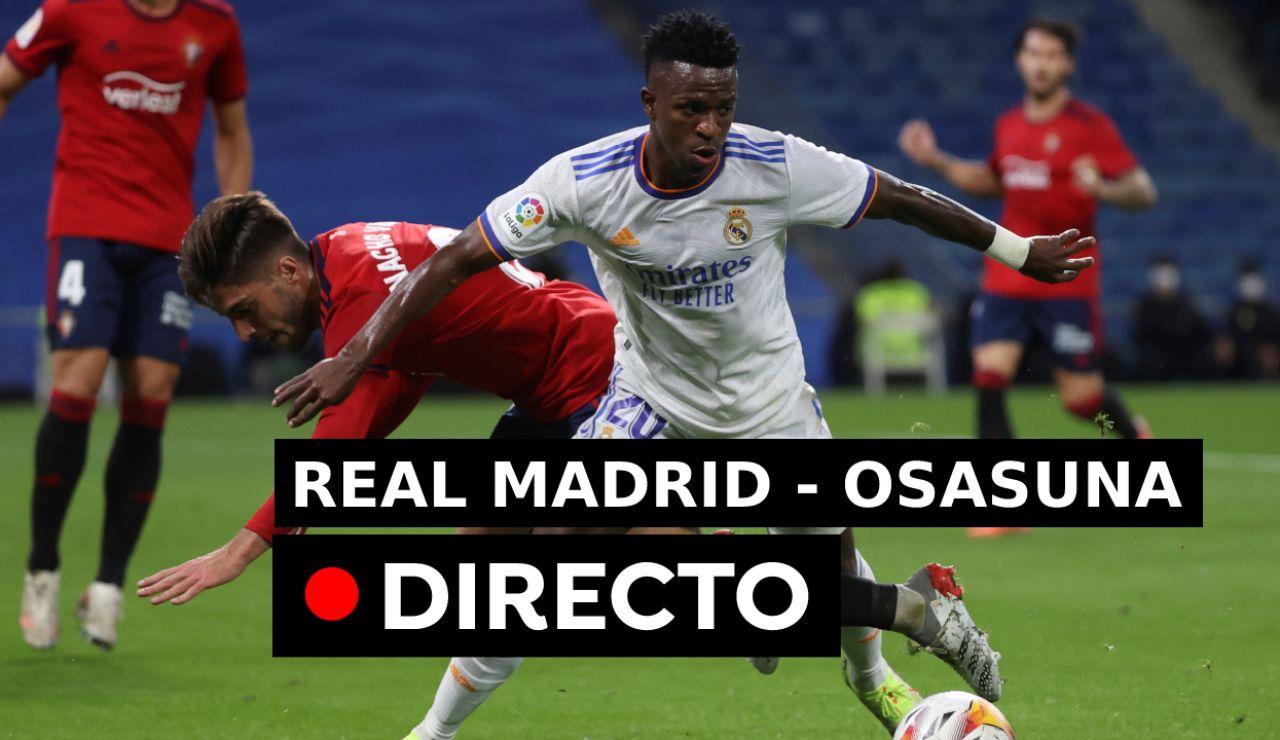 Real Madrid - Osasuna: Partido, goles y resultado de la Liga, en directo (0-0)