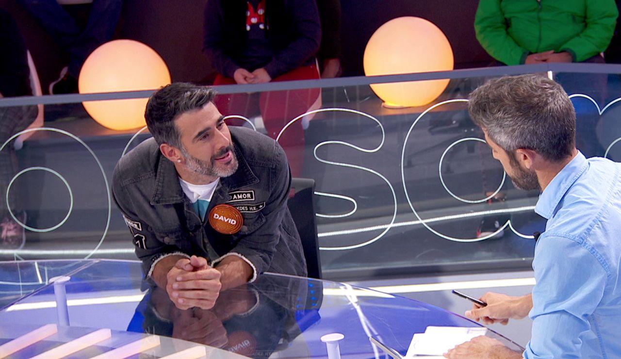"""La reacción de Roberto Leal al inesperado 'ataque' de David Amor: """"¿Por qué das tanto asco?"""""""