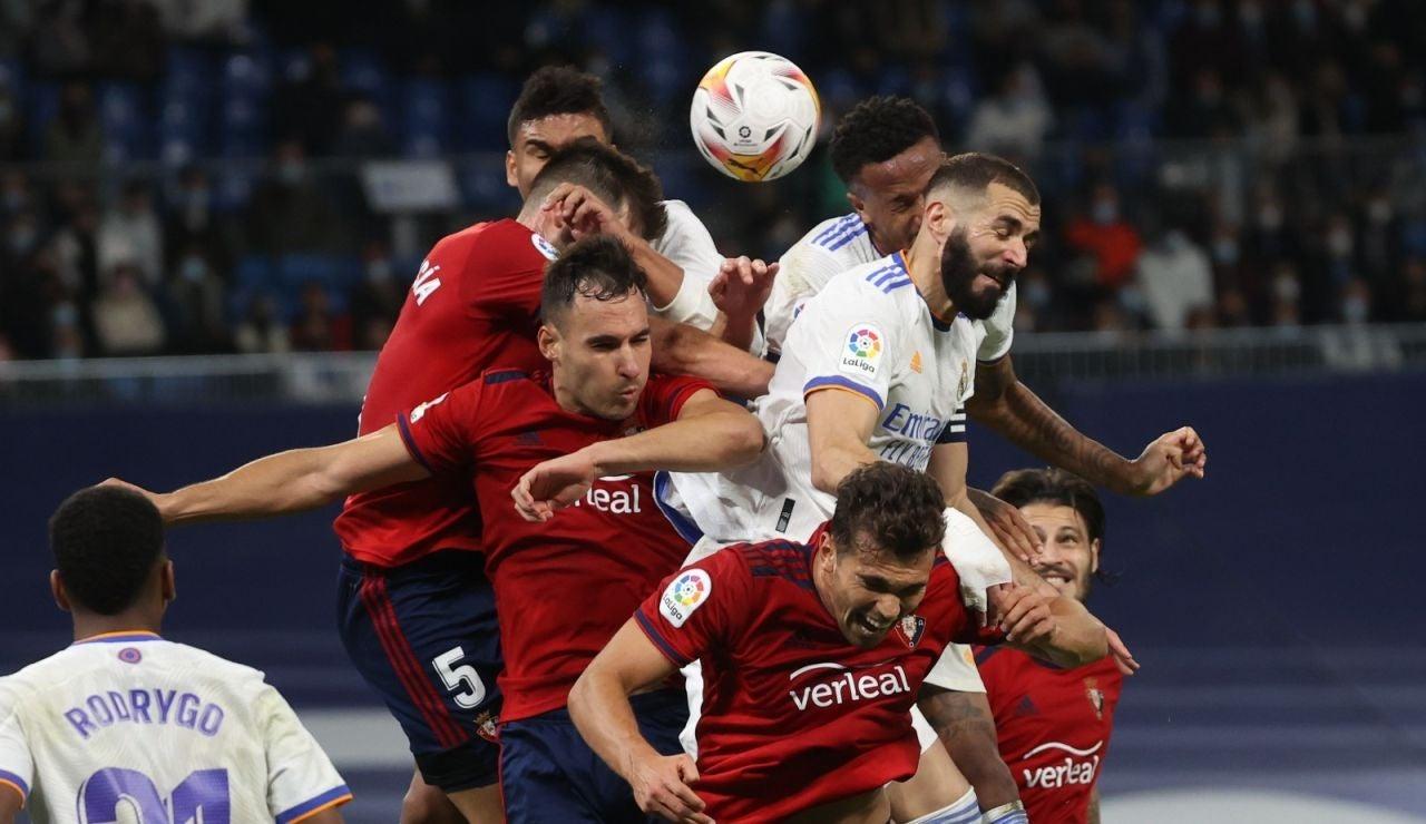El Real Madrid empata ante Osasuna