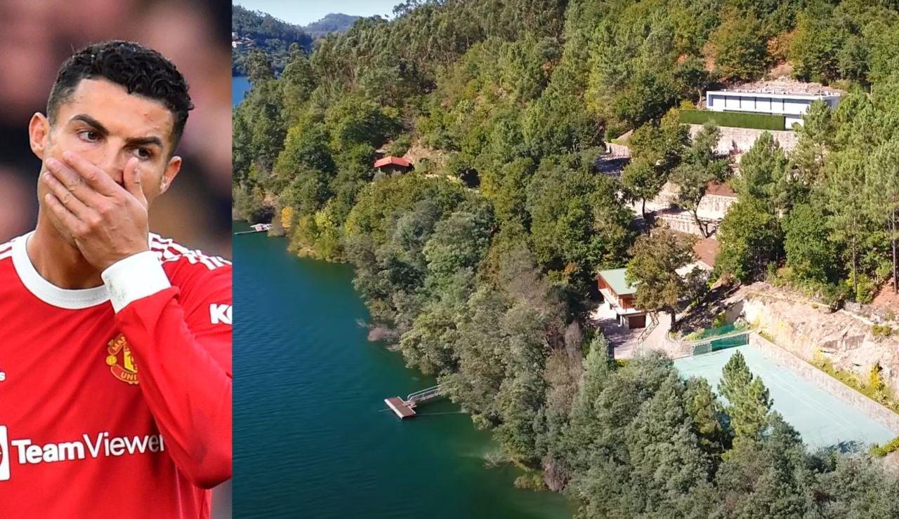 Cristiano Ronaldo, obligado demoler parte de una de las mansiones más lujosas en Portugal