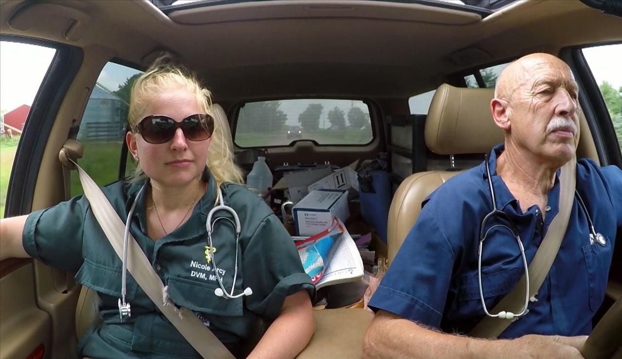 Nicole, la nueva veterinaria