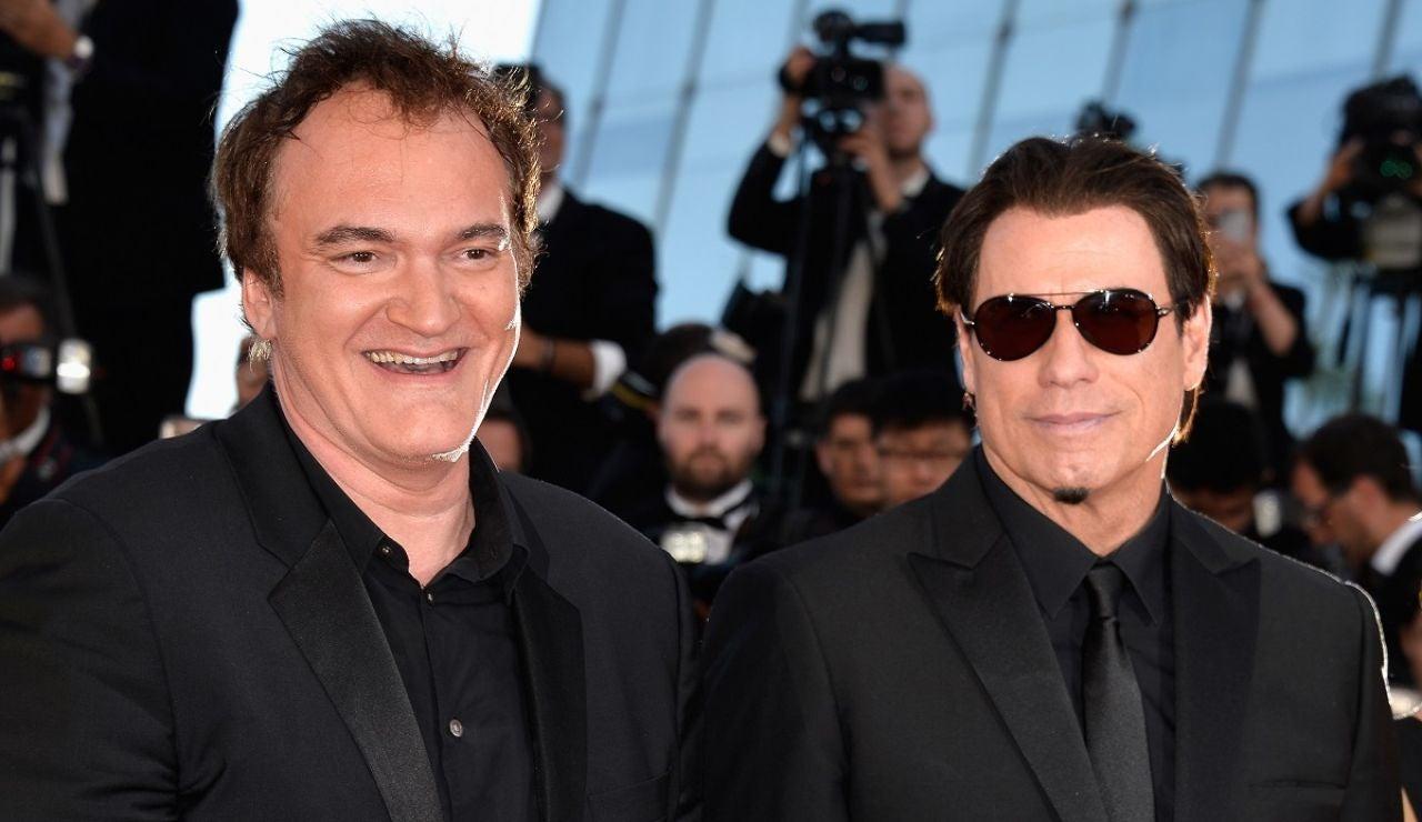 Quentin Tarantino y John Travolta