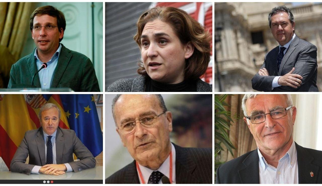 José Luis Martínez Almeida, Ada Colau, Juan Espadas y otros alcaldes se unen para pedir ayuda al Gobierno tras la anulación de las plusvalías