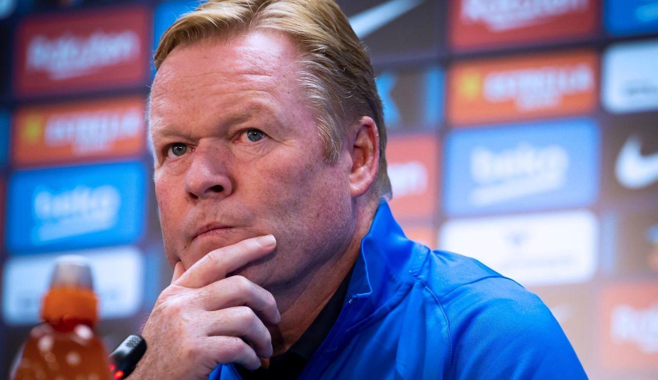 Oficial: El Barcelona despide a Ronald Koeman tras perder contra el Rayo Vallecano