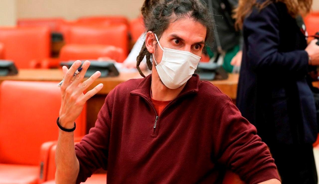 El ya exdiputado de Unidas Podemos Alberto Rodríguez en una imagen de archivo