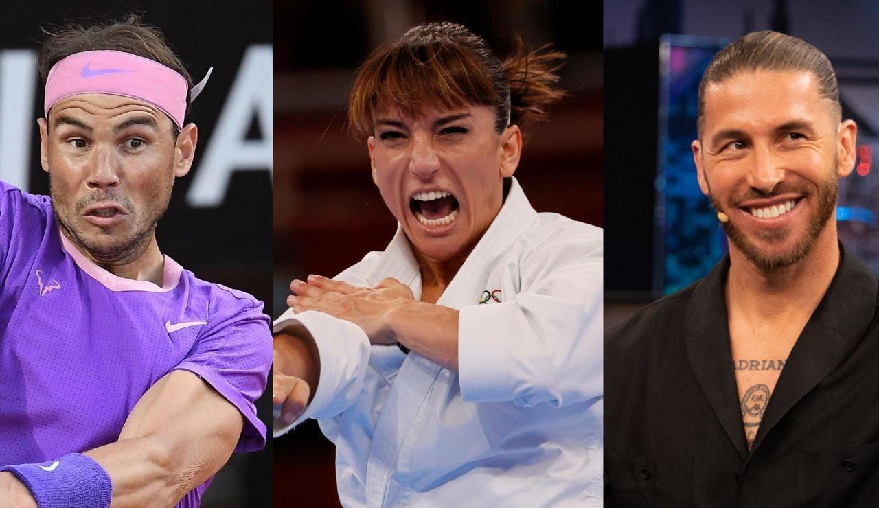 Sandra Sánchez, Rafa Nadal, Sergio Ramos y Alejandro Soler entran en el libro Guinness de los Récords