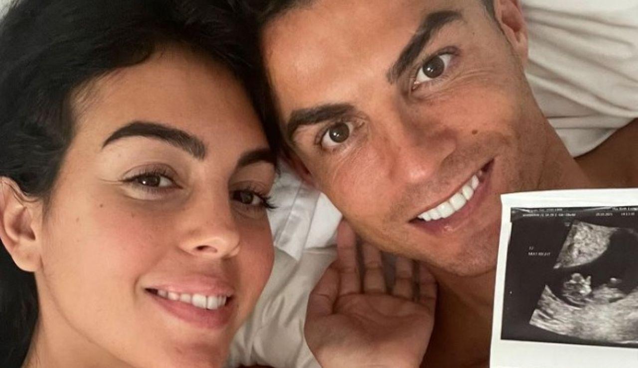 """Cristiano Ronaldo y Georgina Rodríguez anuncian que esperan gemelos: """"Nuestros corazones están llenos de amor"""""""